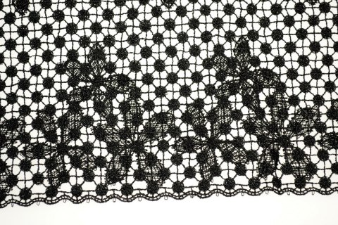 Beautifull wide guipure lace trim