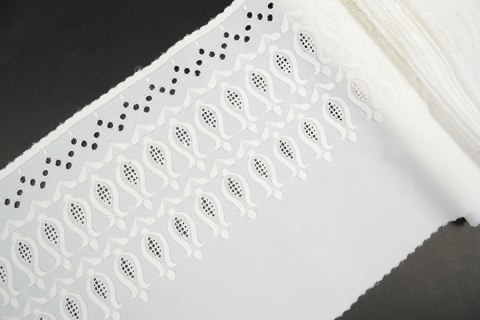 Wide Embroidered lace