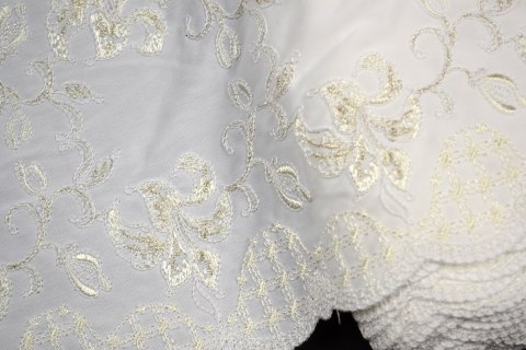 Optc white Embroidered lace