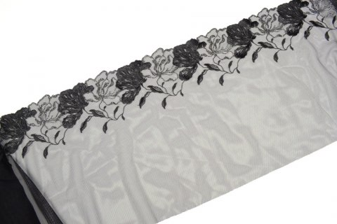 Wide stretch Embroidered lace
