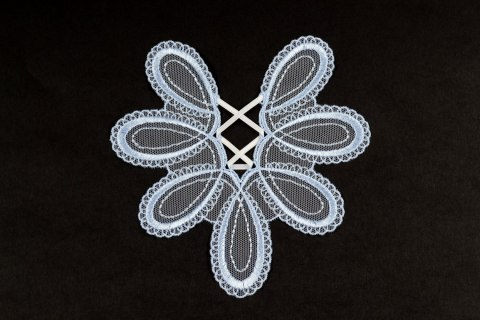 Embroidered appliques 2pcs.