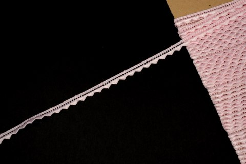 Light pink guipure lace