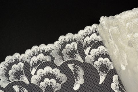 Beautifull embroidery lace on tulle 1mb